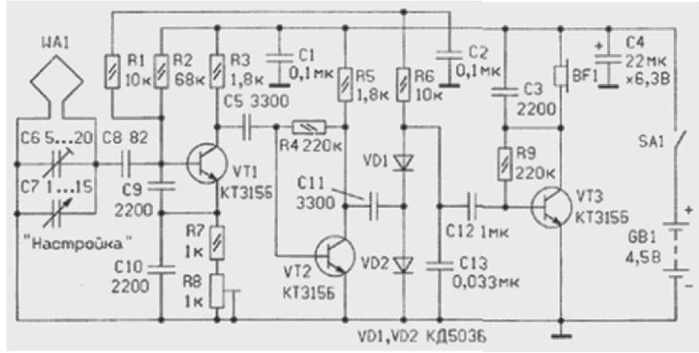 autodyne synchronous regenerative receiver p85